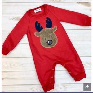Melinda and Me Reindeer Onesie